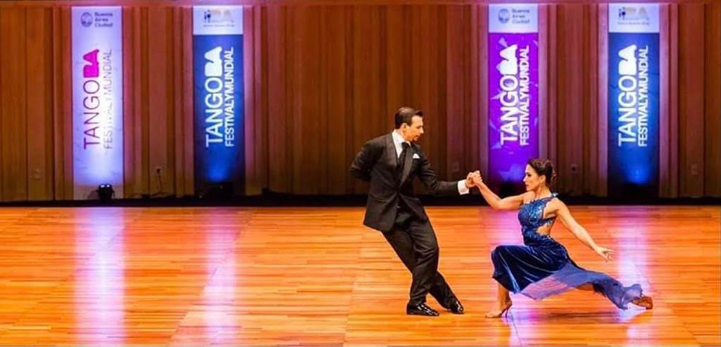 Maestri di Tango Gioia Abballe e Simone Facchini